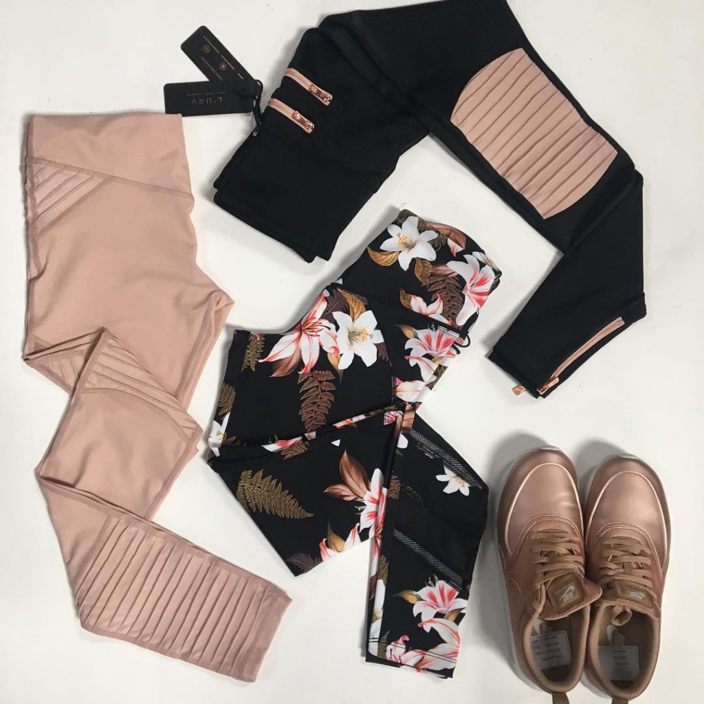 Pretty little things! Fever Pitch Leggings in Blush are Backhellip